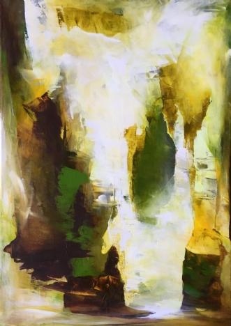 Glow by Hanne Toft Ørum | maleri