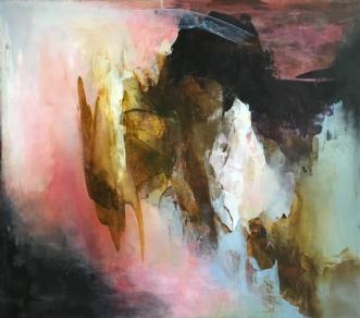 Afgrund by Hanne Toft Ørum | maleri