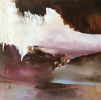 Uden titel 3 by Hanne Toft Ørum | maleri