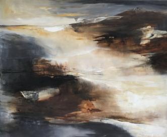 Ukendt land by Hanne Toft Ørum | maleri