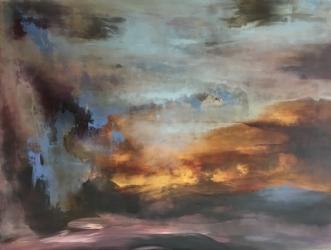 Det var smukt, som .. by Hanne Toft Ørum | maleri