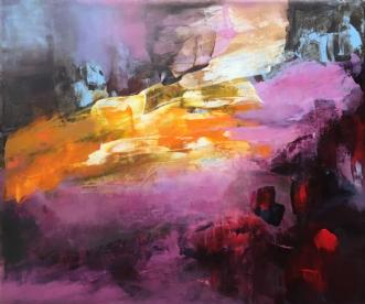 Uden titel 7 by Hanne Toft Ørum | maleri