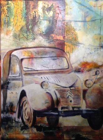 Uden titel by Birgit Brandt | maleri