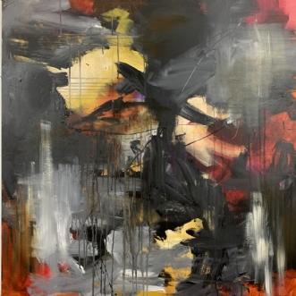 Stormy by Tania Bensimon | maleri