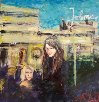 Jolena by Yvonne Wiese | maleri