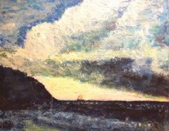 Nordkysten by Yvonne Wiese | maleri