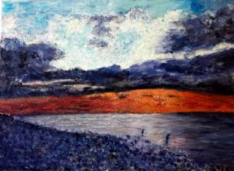 Fisketur  by Yvonne Wiese | maleri