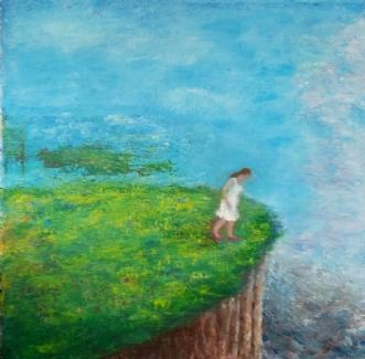 Himmel og Hav by Yvonne Wiese | maleri