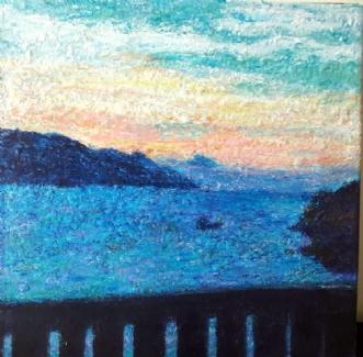 Kroatien  by Yvonne Wiese | maleri