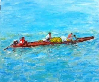 Amazonas by Yvonne Wiese | maleri