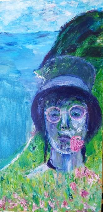 Itzi bitzi tag med .. by Yvonne Wiese | maleri