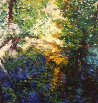 Dyrehaven 1 by Yvonne Wiese | maleri
