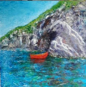 Bornholm  by Yvonne Wiese   maleri