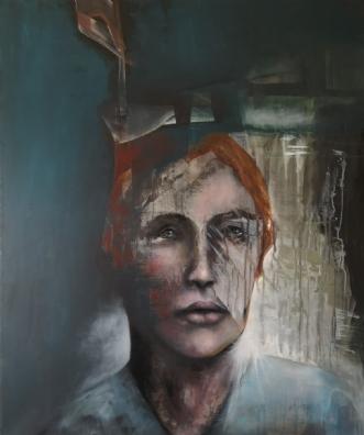 Ekstrakt  by Mette Kølbæk | maleri