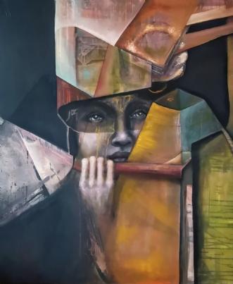 Explorer  by Mette Kølbæk | maleri