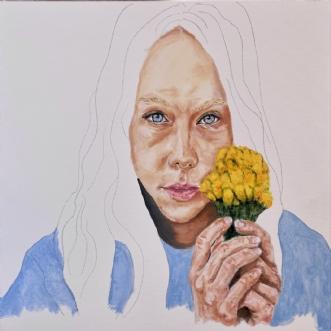 Pigen med blomsterne - UnfinishedafPeter Fuglsang