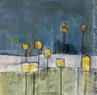 indtryk 1 by Susanne Ruge | maleri