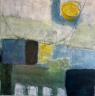 indtryk 2 by Susanne Ruge | maleri