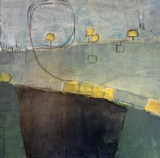 indtryk 3 by Susanne Ruge | maleri