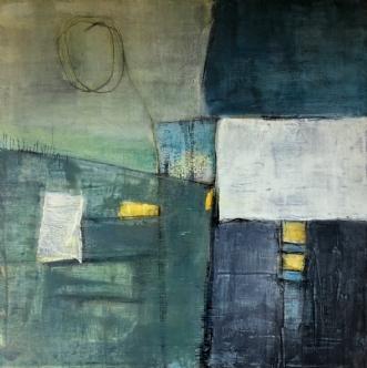 indtryk 4 by Susanne Ruge | maleri