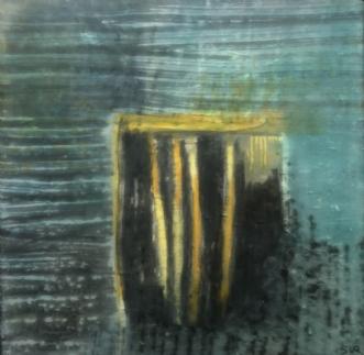 rum 1 by Susanne Ruge | maleri