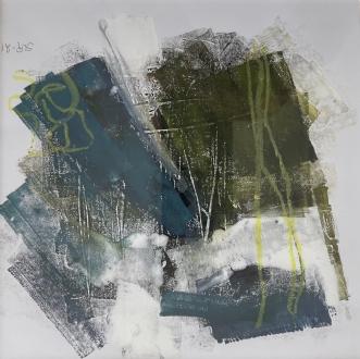 blues-1 by Susanne Ruge | tegning