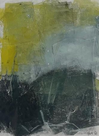 monotypi 2 by Susanne Ruge | tegning