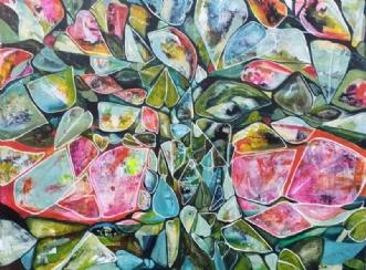 Sommertræ by Irene Steenberg   maleri
