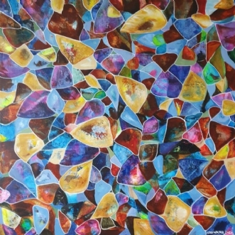 Efterår by Irene Steenberg | maleri