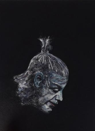 Till Lindemann , Ra.. by Chris Præstegaard | maleri