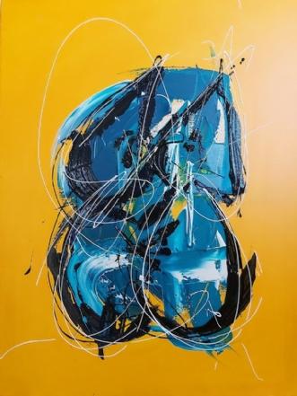 Touch me by Martin Boldsen | maleri