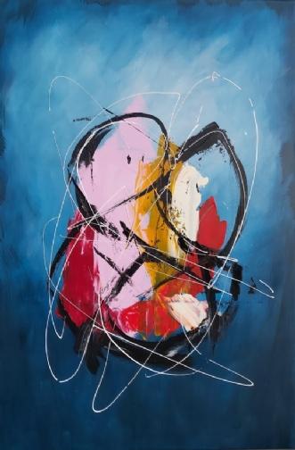 My Universe by Martin Boldsen | maleri