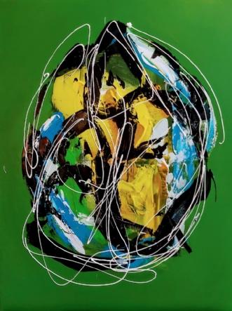 Fader Figure by Martin Boldsen | maleri
