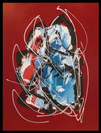 Old Love by Martin Boldsen | maleri