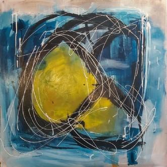 Chaos by Martin Boldsen | maleri