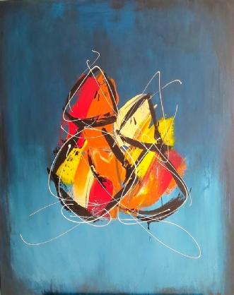 Soulmates by Martin Boldsen | maleri