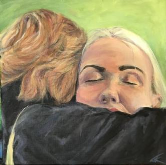 Kram / grandma hugafTrine Kent