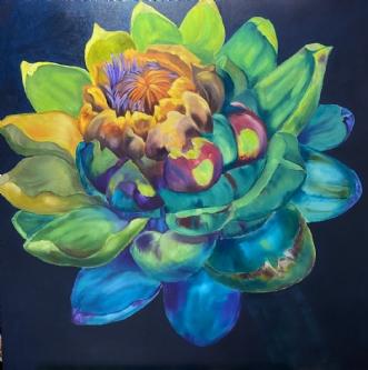 Artiskok by Susanne Luup | maleri
