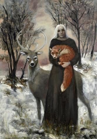 Winter rougeafMalin Östlund