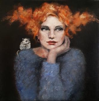 Bits and pieces by Malin Östlund | maleri