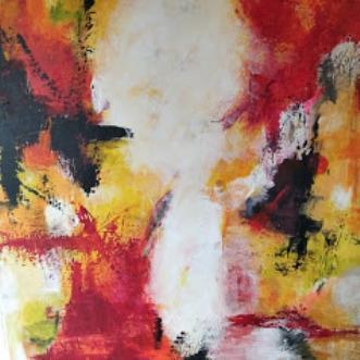 nr. 24 by Susanne Jensen | maleri