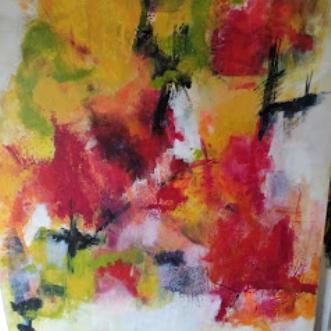 nr 25 by Susanne Jensen | maleri