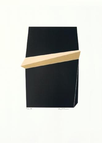 Sort Guld III by Birgitte Hansen | tegning
