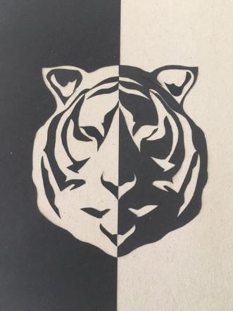 Tiger by Birgitte Hansen | tegning