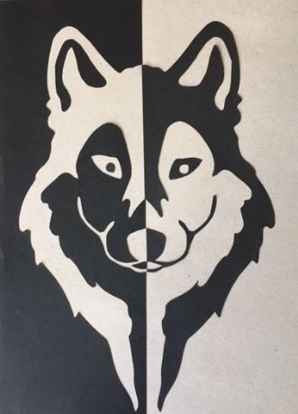 Hund by Birgitte Hansen | tegning