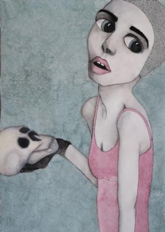 Still Standing  by Neel Rosenkrantz | maleri