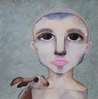 Trust me  by Neel Rosenkrantz | maleri