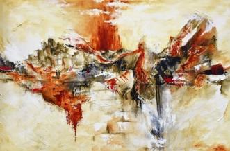 Specchio dei tempo .. by Charlotte Bjørlig | maleri