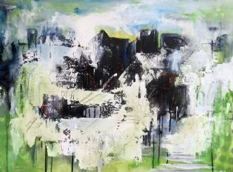 City X Dreams by Charlotte Bjørlig | maleri