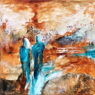 Explore 3 by Charlotte Bjørlig | maleri